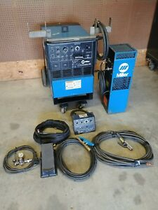 Miller Syncrowave 250 Tig Welder With Watercooler And Pc 300 Pulse Package