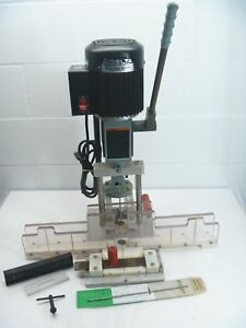 Delta 14 650 Type 2 Hollow Chisel Mortiser Manual Honeycomb Pleated Blind Drill
