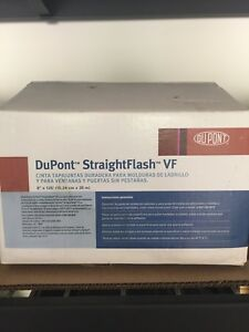 Dupont Straightflash Vf Straight Flash 2 Sided Tape Partial Roll