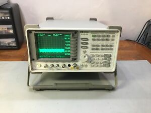 Hp Agilent Keysight 8563e 30 Hz 26 5 Ghz Spectrum Analyzer Options 1 6 7 8 26