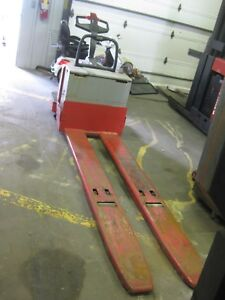 Raymond 112tm Double Electric Pallet Jack 96 Forks 6 000 Lb Capacity Save