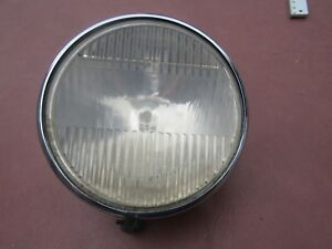 Vintage 1930 S Era Parabeam Head Lamp Driver Quality Good Glass