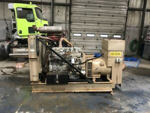 265 Kw 480 Volt Generator With new Detroit Diesel Motor And New Age Generator