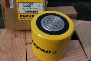 Enerpac Rcs502 Single Acting Hydraulic Cylinder 50 Tons