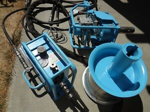 Condux Hydraulic Fiber Optic Tugger Cable Wire Puller Hitch Mount Capstan Sheave