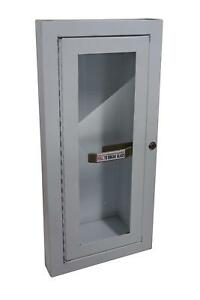 Sandusky Buddy Products Semi Recessed Fire Extinguisher Cabinet 8012 9