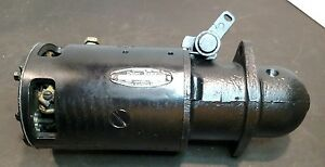 1949 1950 Oldsmobile Starter 1107956 8cyl Delco Remy Works Great