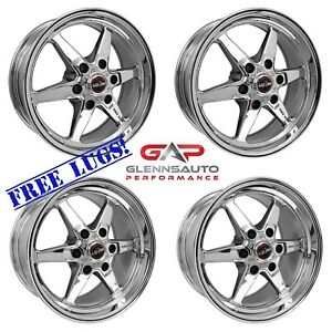 Race Star Drag Pack 15x10 17x4 5 For 99 14 Gm Truck 4 Wheel Combo Kit