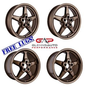 Race Star Drag Pack 15x10 17x4 5 For S550 2015 Mustang Bronze 4 Wheel Combo