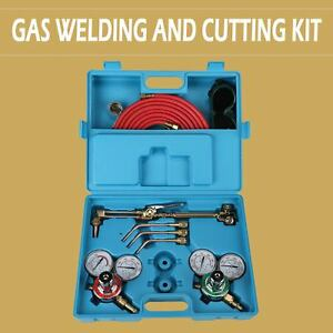 Gas Welding Cutting Welder Kit Oxy Acetylene Oxygen Torch Set