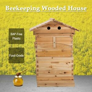 Bee Hive Frame For Bee Keepers Beehive Natural Wooden Beekeeping House Box