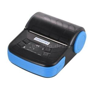 Portable 80mm Thermal Printer Bt Receipt Pos For Windows Android Ios Mobile N0s7