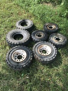 Orka Magnum And Gs Solid Powerfork Duro Forklift Tire