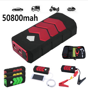 12v 50800mah Car Portable Car Jump Starter Booster Jumper Box Battery Charger