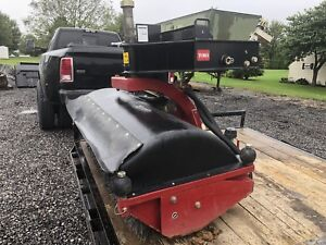 Toro 48 Hydraulic Broom Sweeper For Mini Skid Steer Loader Vermeer Ditch Witch