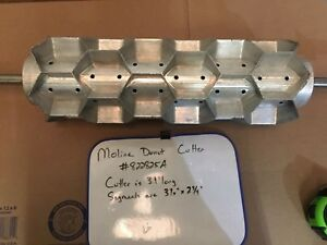 Moline Hexagon Rotary Biscuit Cutter 7 Wide Used 2 3 4 Cup 822825a
