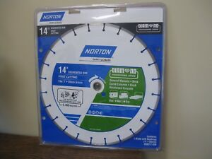 New Norton Saint gobain 14 Fast Cutting Diamond Blade
