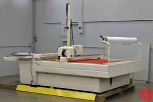 Lectra Systems Vector Vt 2500 V2 Table Textile Plotter Cutter W Rip Computer