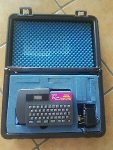 Brother Pt 15 P touch Label Maker With Case Charger Works