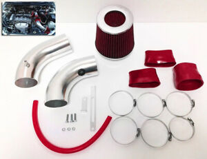 Red Air Intake Kit Filter For 1999 2003 Mazda Protege 1 8l 2 0l Mp5 L4