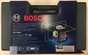 Bosch Gll3 330cg 360 Degree Green Laser Level 3 Plane Leveling And Alignment