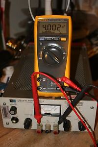 Fluke 177 True Rms Multimeter Recent Calibration Fluke Test Leads Manual