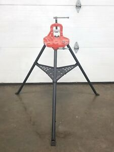 Ridgid 40 a Vise Tripod Stand Use With Your Pipe Threading Threader 300 700 2