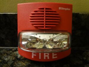 Simplex 4903 9418 Fire Alarm Horn With Strobe 0626587 Free Shipping