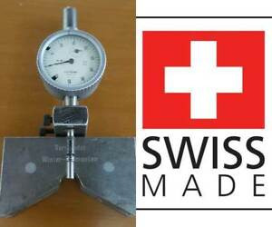 Gauge Holder Test Indicator V Indicator Stand Magnetic Swiss Tesa Compac