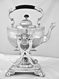 A Tiffany Co Sterling Silver Tea Coffee Service And Tray C 1900