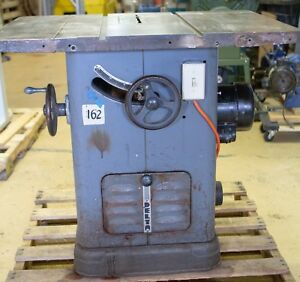 Delta Unisaw 10 New 4hp Motor Arbor Bearing Biesemeyer Fence Outfeed Table