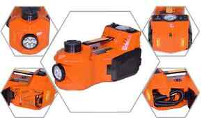Electric Hydraulic Jack And Impact Wrench 3 In 1
