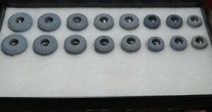 Valve Seat Grinding Stones 16 Pcs Medium1 Grey Fast And Economical B