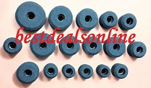 Valve Seat Grinding Stones Set Of 17pcs For Black Deck 9 16 Thread Brand New