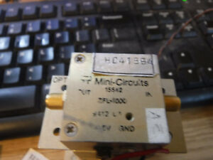 Mini circuits Zfl 1000 0 1 To 1000 Mhz Broadband Coaxial Amplifier
