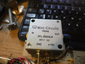 Mini circuits Zfl 500hln 10 500mhz Amplifier