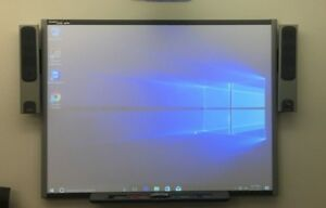 Smart Technologies 77 Interactive Whiteboard 680i W Pen Tray And Speakers