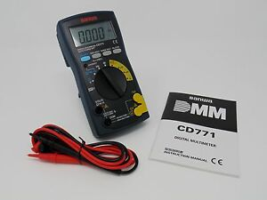 New Sanwa Cd771 Digital Multimeter Backlight Cont Buzzer With Led japan