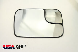 For Dodge Ram 1500 2500 3500 W Trailer Towing Mirror Glass Passenger Side