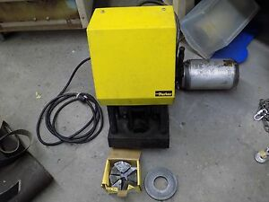 Used Excellent Parker Parkrimp Hydraulic Hose Crimper W 1 Die