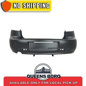 New Ma1100175 Bumper Cover Prime W Spoiler Holes Rear For Mazda 3 2004 2006