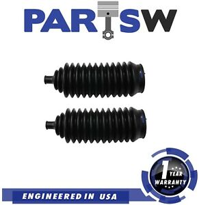 2 Pc Rack And Pinion Bellow Boots Kit For Dodge Ford Hyundai Mercury Mitsubishi