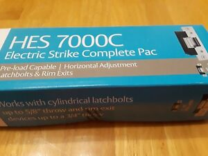 New Hes 7000 Complete Pac Electric Strike 7000c 630