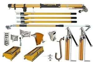 Tapetech Drywall Taping Tools Pro Full Set 2 Heads 2 Pumps W Nail Spotter