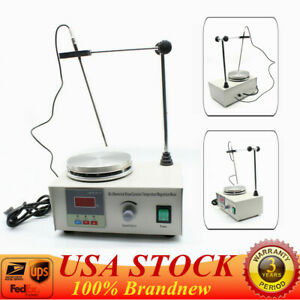 Lab Hot Plate Heater Heating With Speed Control Magnetic Stirrer Mixer