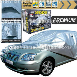 Maypole Premium Small Pu Coated Waterproof Full Car Cover Mp9331 With Vent