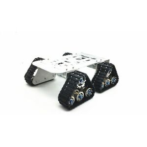 4wd Metal Tank Smart Crawler Robotic Chassis For Rc Robot Toy Car 25 5x25x23cm