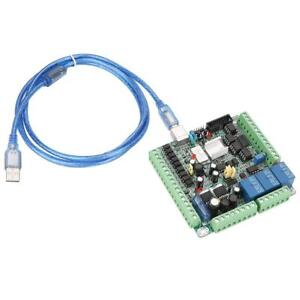 Usb 25khz Motion Controller Card Breakout Board With Cable For Cnc Engraving Ark