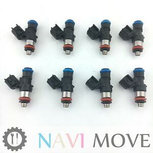 8x 42lb Fuel Injectors For Bosch 06 15 Chevrolet Corvette Ls3 L99 Camaro Ss