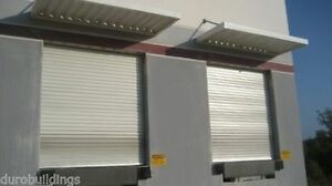 Durosteel Janus 10 Wide By 12 Tall 2000 Series Commercial Roll up Door Direct
